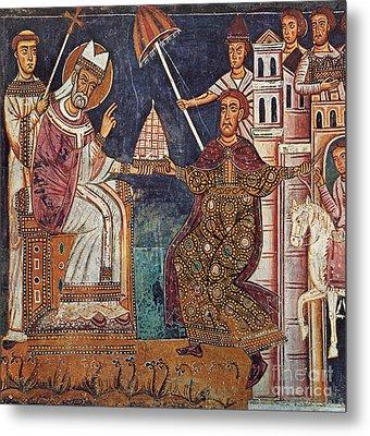 Constantine I (c280-337) Metal Print by Granger