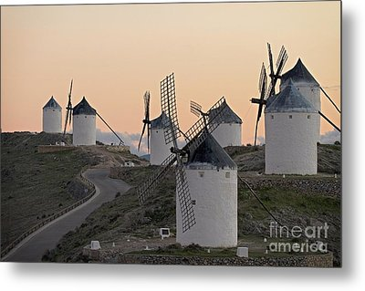 Consuegra Windmills Metal Print by Heiko Koehrer-Wagner