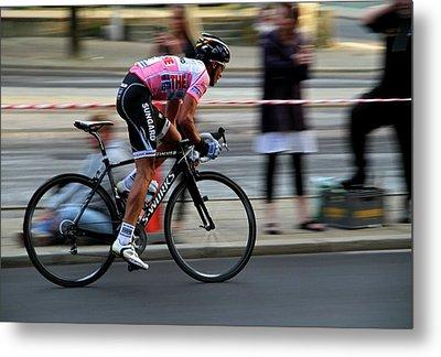 Contador Street Racer Metal Print by Odd Jeppesen