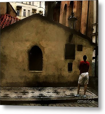 Contemplating Antiquity Metal Print by RC DeWinter