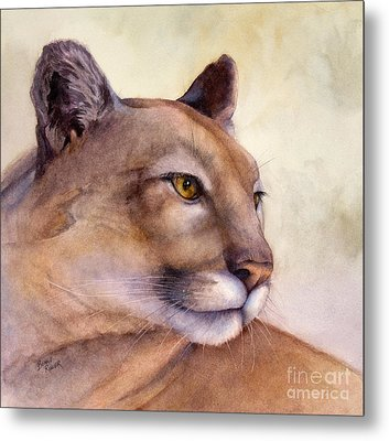 Contemplation Metal Print by Bonnie Rinier