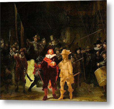 Contemporary 1 Rembrandt Metal Print
