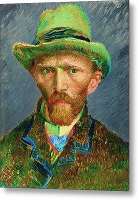 Contemporary 2 Van Gogh Metal Print by David Bridburg