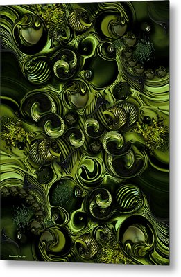 Context Of Dreams - Vegetable Metal Print