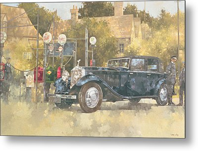 Continental Phantom Two Metal Print by Peter Miller