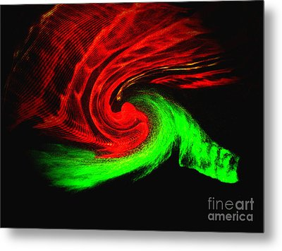 Continuum Metal Print by Patric Carter