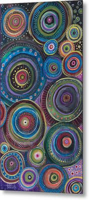 Continuum Metal Print by Tanielle Childers