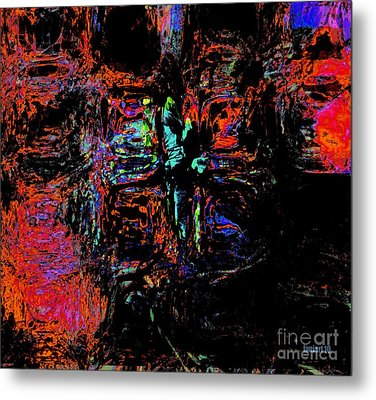 Control Not Circumstances But Control Self In All Circumstances Metal Print by Fana Simon