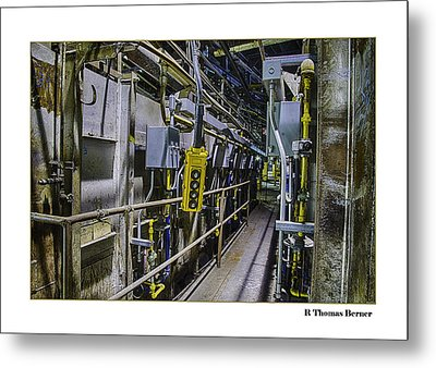 Metal Print featuring the photograph Controls by R Thomas Berner