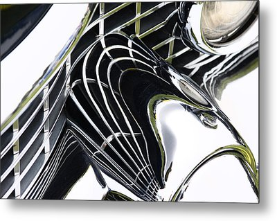 Conveluted Metal Print by Rebecca Cozart