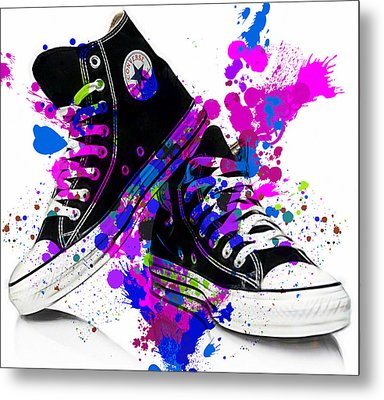 Convers All Stars Metal Print by Marvin Blaine