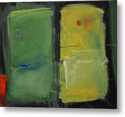 Conversation With Rothko Metal Print by Tim Nyberg