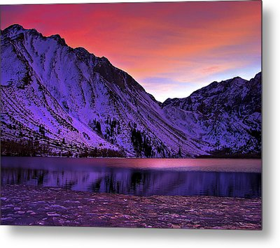 Convict Lake Sunset Metal Print by Scott McGuire