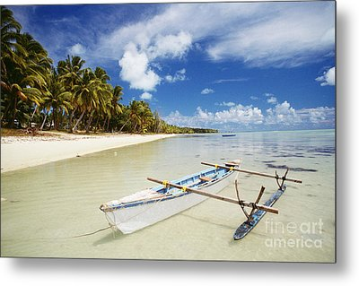 Cook Islands, Aitutaki Metal Print by Bob Abraham - Printscapes