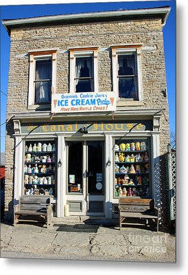 Cookie Jar Store Metal Print by Steve Gass