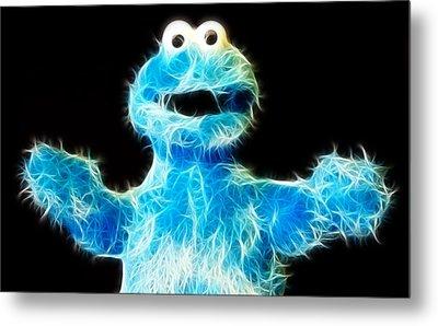 Cookie Monster - Sesame Street - Jim Henson Metal Print by Lee Dos Santos