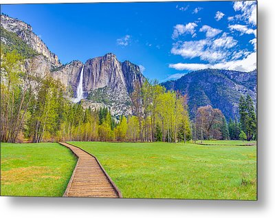 Metal Print featuring the photograph Cook's Meadow Yosemite National Park by Scott McGuire