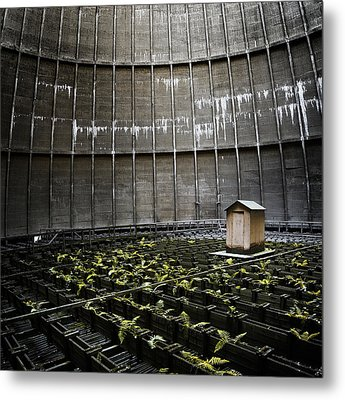 Metal Print featuring the photograph Cooling Tower Petit Maison by Dirk Ercken