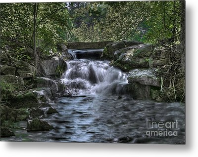 Cooling Waters  Metal Print by Tamyra Ayles