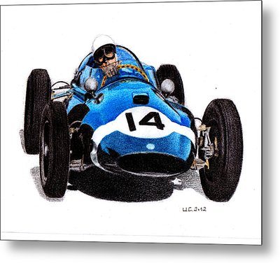 Cooper T51 Stirling Moss 1959 Metal Print by Ugo Capeto