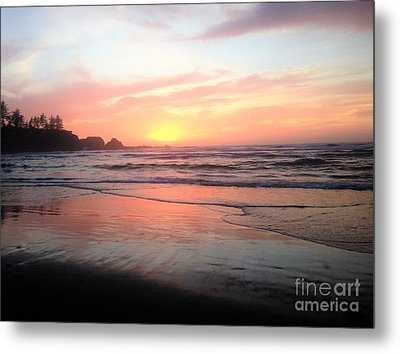 Coos Bay Metal Print by Linda Shackelford