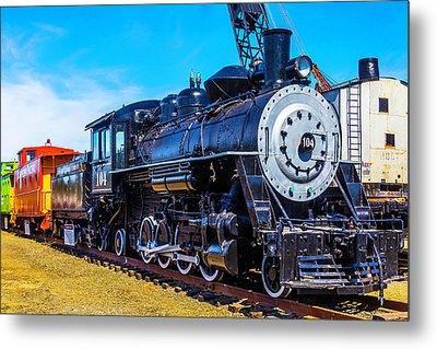 Coos Bay Lumber Company Train 104 Metal Print by Garry Gay