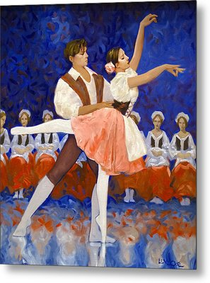 Coppelia Metal Print by Kevin Lawrence Leveque
