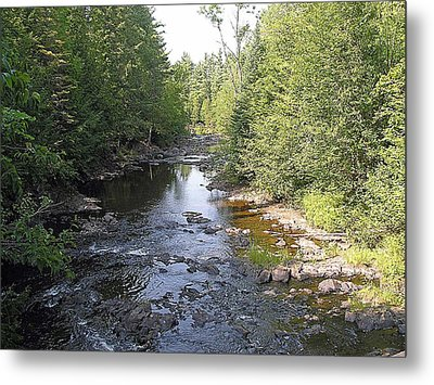 Copper Falls  River Metal Print