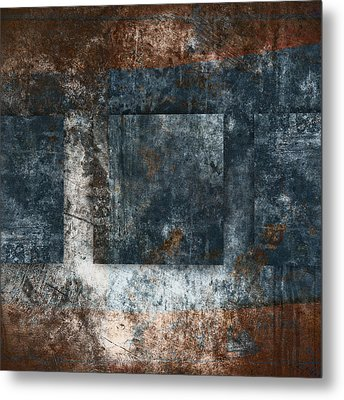 Copper Finish 1 Metal Print by Carol Leigh