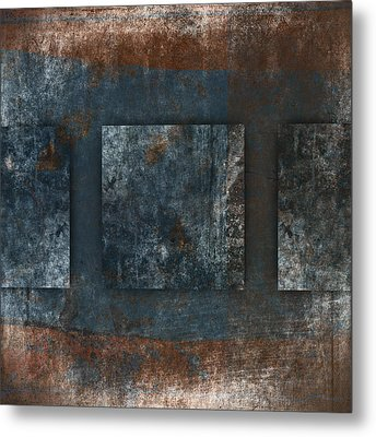 Copper Finish 2 Metal Print by Carol Leigh