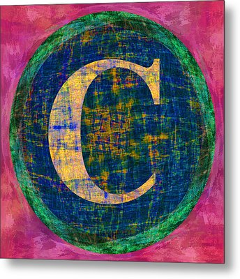 Copyright Character Metal Print by Gregory Scott