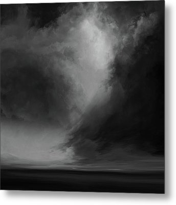 Coral Bw Metal Print by Lonnie Christopher
