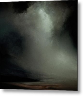 Coral - Dark Metal Print by Lonnie Christopher