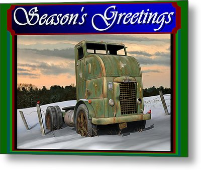 Corbitt Christmas Card Metal Print by Stuart Swartz