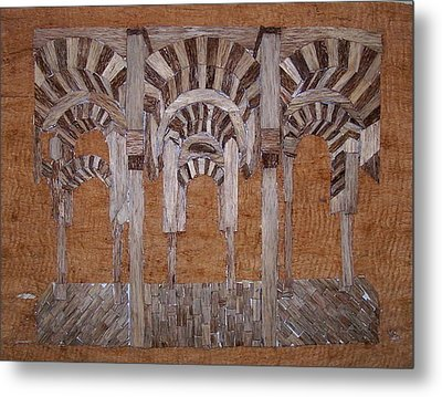 Cordoba Mezquita Metal Print by Joedhi