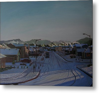 Corner Of 157th St. And 168th Ave. Metal Print by Thu Nguyen