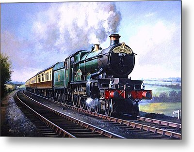 Cornish Riviera Express. Metal Print by Mike  Jeffries