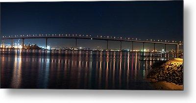 Coronado Bridge San Diego Metal Print by Gandz Photography