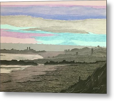 Coronado Kaleidoscope Metal Print by Harvey Rogosin