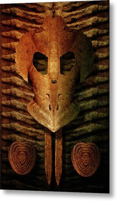 Corrosion Of Intent Metal Print by WB Johnston