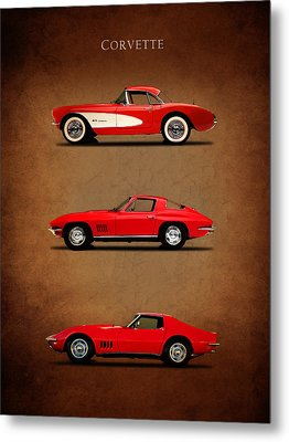 Corvette Series 1 Metal Print