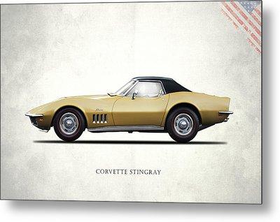 Corvette Stingray 1969 Metal Print by Mark Rogan