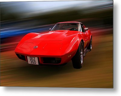 Corvette Stingray Metal Print