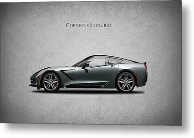 Corvette Stingray Coupe Metal Print by Mark Rogan