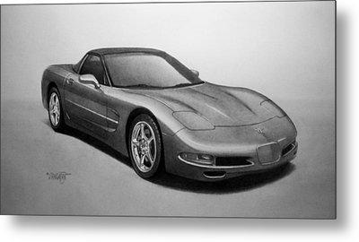 Corvette Metal Print by Tim Dangaran