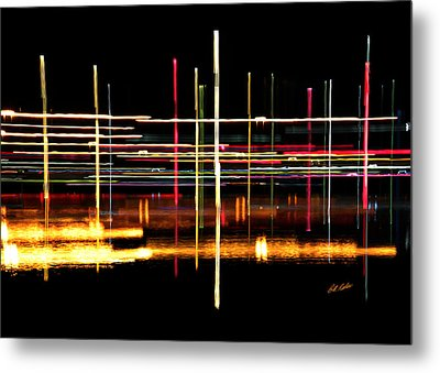 Metal Print featuring the photograph Cosmic Avenues by Bill Kesler