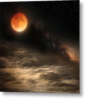 Cosmic Clouds Metal Print by Bill Wakeley
