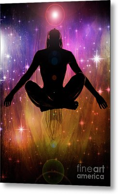 Metal Print featuring the photograph Cosmic Enlightenment... by Nina Stavlund