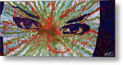 Cosmic Eyes Metal Print