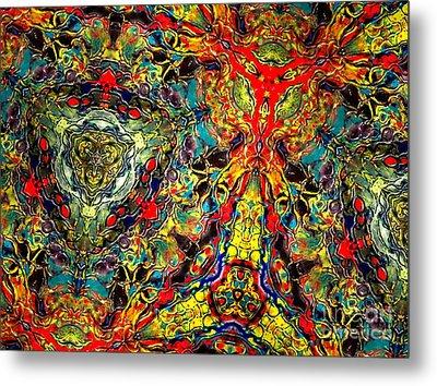Cosmic Groove Metal Print